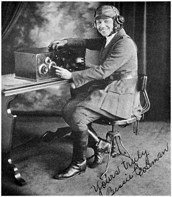Bessie Coleman, Us Aviation Pioneer Poster