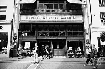 Bewleys Oriental Cafe In Grafton Street In Dublin Ireland Poster by Joe Fox