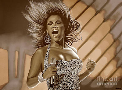 Beyonce Poster by Meijering Manupix