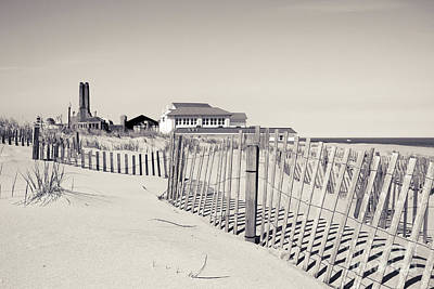 Poster featuring the photograph Beyond The Dunes by Colleen Kammerer