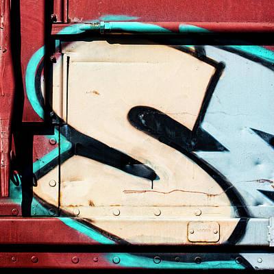 Big Graffiti Letter S Poster