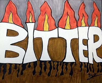 Bitter Poster by Kat Haus Designs