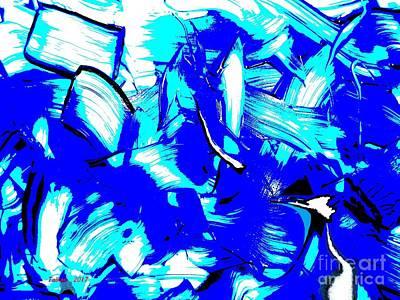 Abstract Tn 007 By Taikan Poster