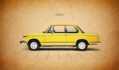 Bmw 2002 Poster by Mark Rogan