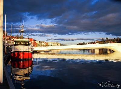 Boat On The River Poster by Mirra Photography