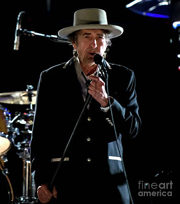 Bob Dylan And His Band Poster