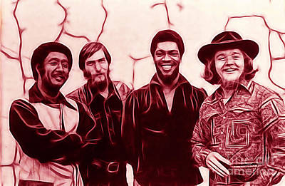 Booker T. And The M.g's Poster by Marvin Blaine