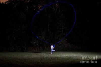 Boomerang At Night Poster