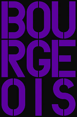 Bourgeois Poster by Three Dots