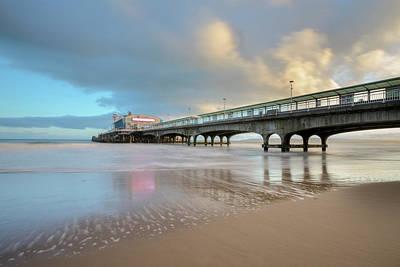 Bournemouth Pier - England Poster by Joana Kruse
