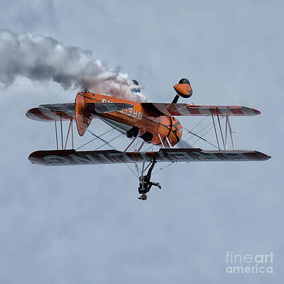 Breitling Wing Walker Poster by Nichola Denny