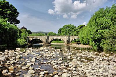 Bridge At Grinton Poster