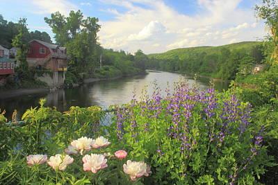 Bridge Of Flowers Shelburne Falls Poster