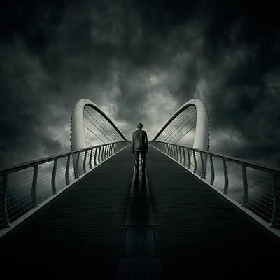 Bridge Poster by Zoltan Toth