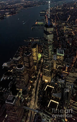 Brookfield Place In New York City - World Financial Center Poster by David Oppenheimer