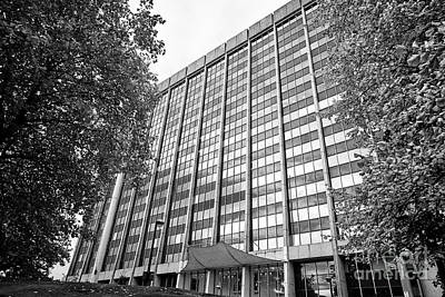brunel house office building home to hmrc amongst others Cardiff Wales United Kingdom Poster