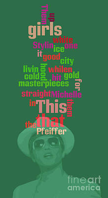 Bruno Mars. Can You Order The Words? Can You Sort The Lyrics? Poster by Pablo Franchi