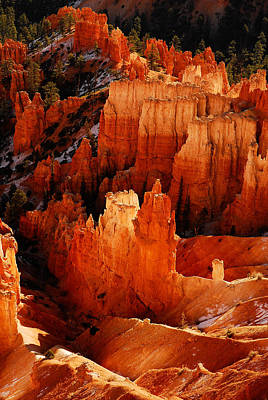 Bryce Canyon Poster by Harry Spitz