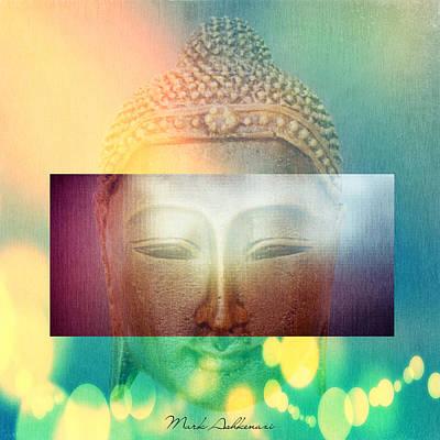 Buddha Poster by Mark Ashkenazi