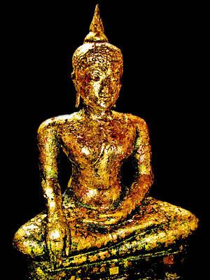 Buddha. Siam. The Kingdom Of Thailand. Poster
