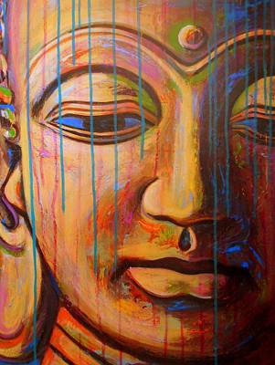 Buddhas Tears Poster by Angie Wright