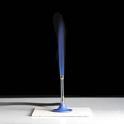 Bunsen Burner Flame Poster by Spl