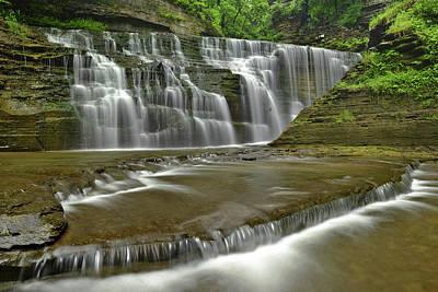 Buttermilk Falls State Park Poster