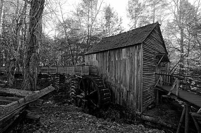 Cades Cove Mill - Tennessee Poster