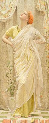 Canaries Poster by Albert Joseph Moore