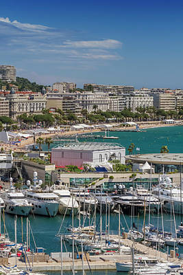 Cannes Croisette Poster