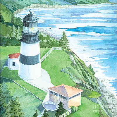 Cape Disappointment Lighthouse Poster by Paul Brent