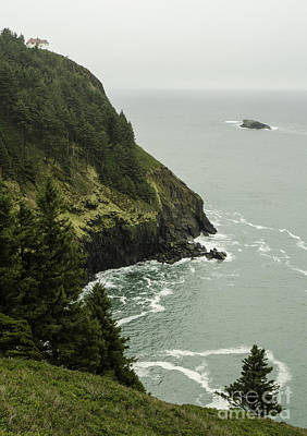 Cape Foulweather Seascape Poster