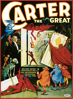 Carter The Great Poster by Unknown