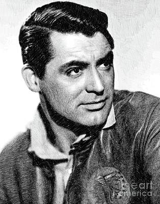 Cary Grant, Vintage Actor By Js Poster