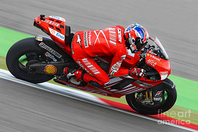 Casey Stoner Poster by Henk Meijer Photography