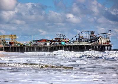 Casino Pier, Seaside Heights Nj Poster