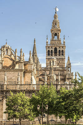 Cathedral Of Seville - Seville Spain Poster