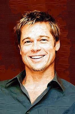 Celebrity Brad Pitt  Poster