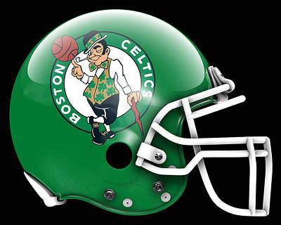 Celtics What If Its Football Poster by Joe Hamilton