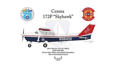 Cessna 172p Skyhawk Poster