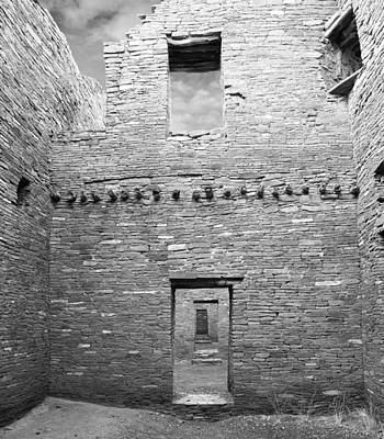 Chaco Canyon Doorways 4 Poster by Carl Amoth
