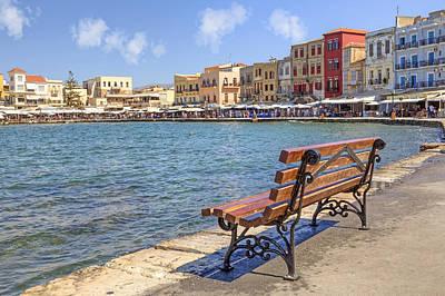 Chania - Crete Poster by Joana Kruse