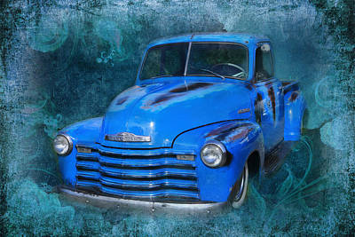 Chev Pickup Poster by Keith Hawley