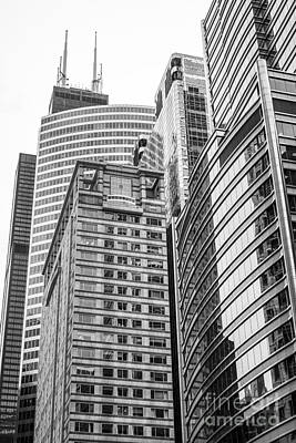 Chicago Office Buildings Architecture Poster by Paul Velgos