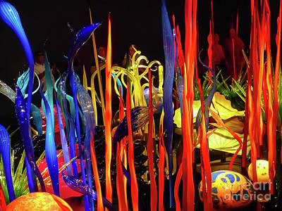 Chihuly Garden And Glass Exhibition Poster