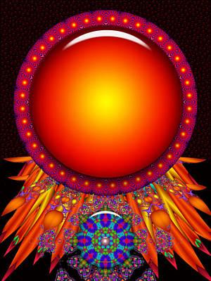 Poster featuring the digital art Children Of The Sun by Robert Orinski