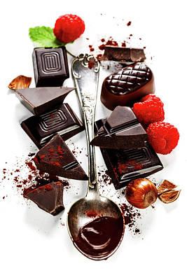 Chocolate Poster by Natalia Klenova