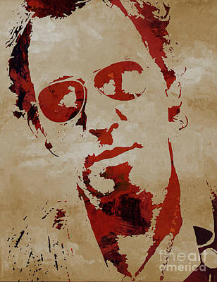 Chris Martin Coldplay Poster