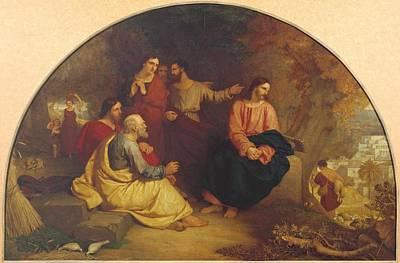 Christ Lamenting Over Jerusalem Poster by Charles Lock Eastlake