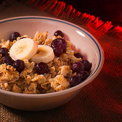 Christmas Oatmeal Breakfast Poster